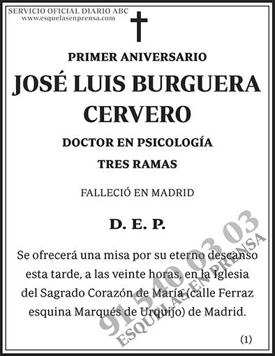 José Luis Burguera Cervero